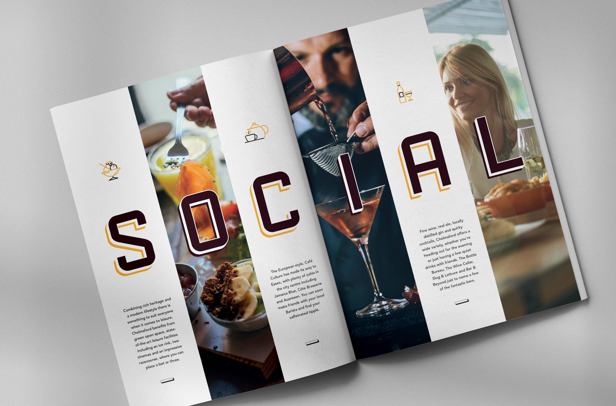 The Signal Yard brochure spread