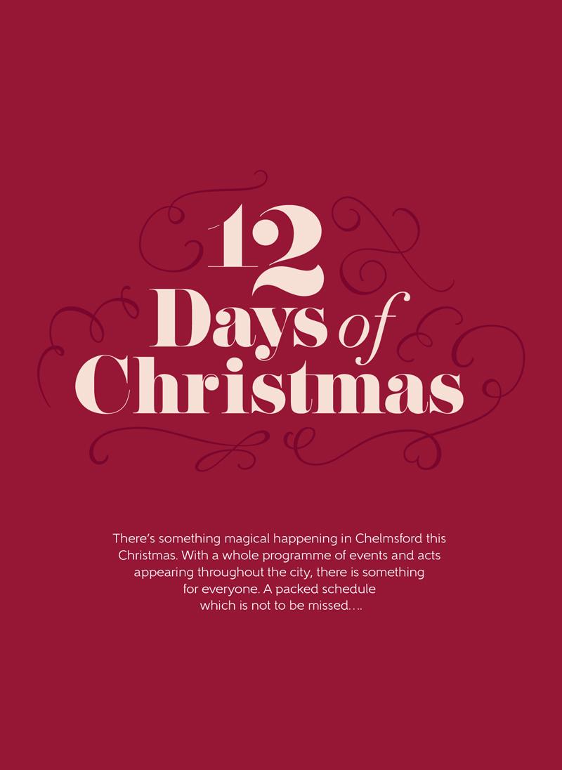 CM1stmas Chelmsford Christmas 12 days of christmas magazine