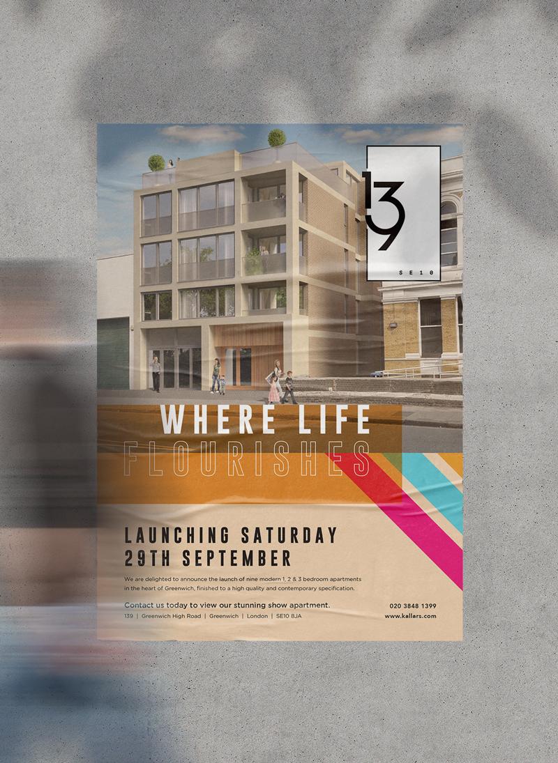 Marketing 139 Apartments Greenwich