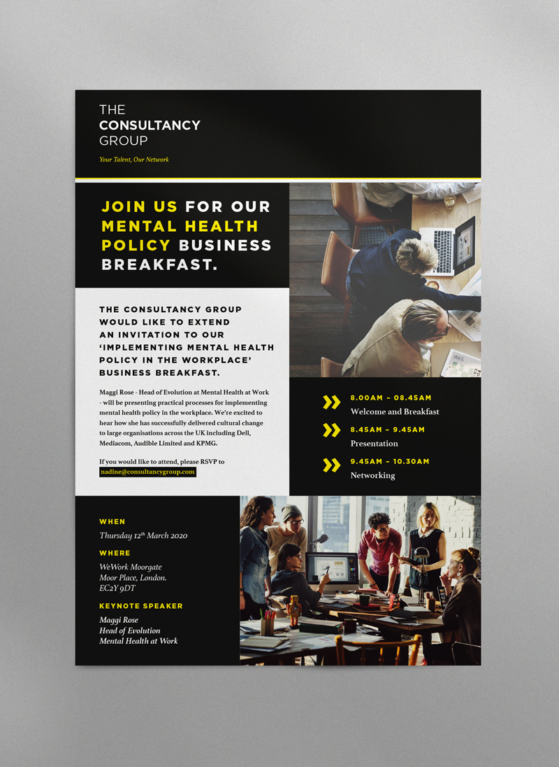 The Consultancy Group poster