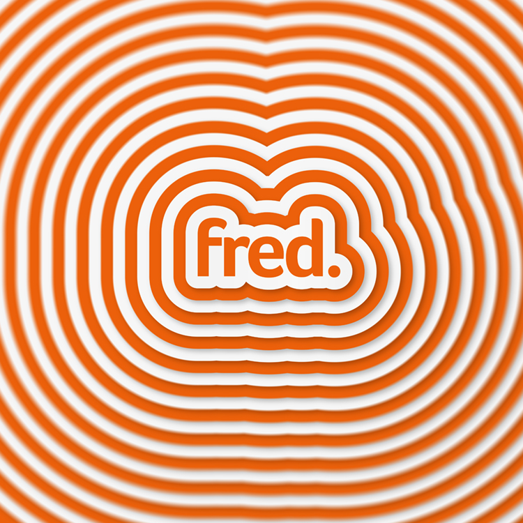 This is our creative grid We Are Fred logo