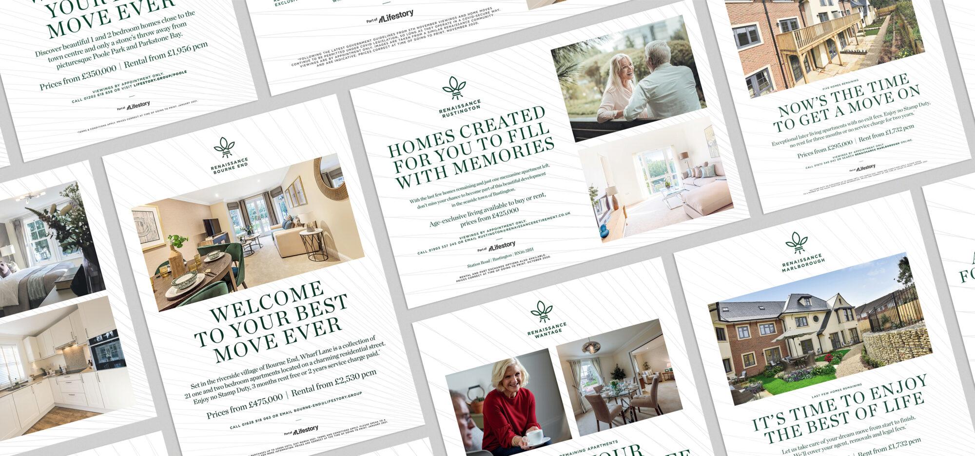 lifestory renaissance press adverts