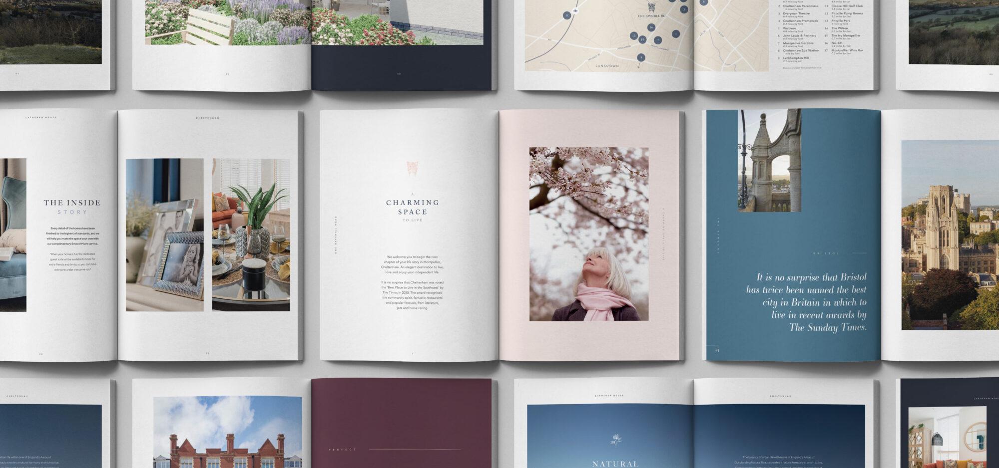 lifestory brochure spreads