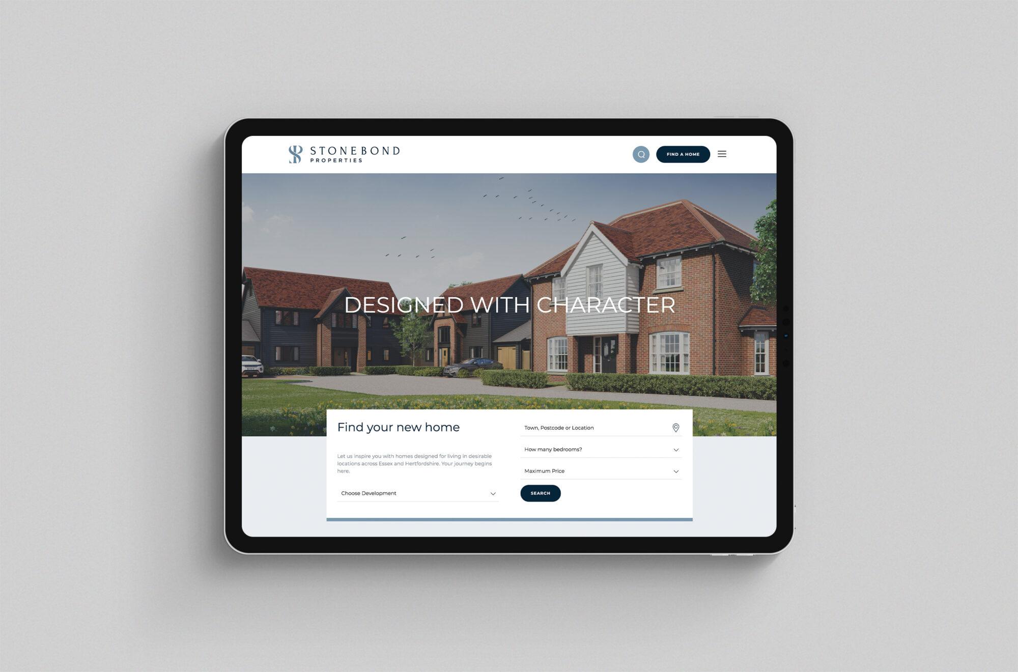 Stonebond Properties website