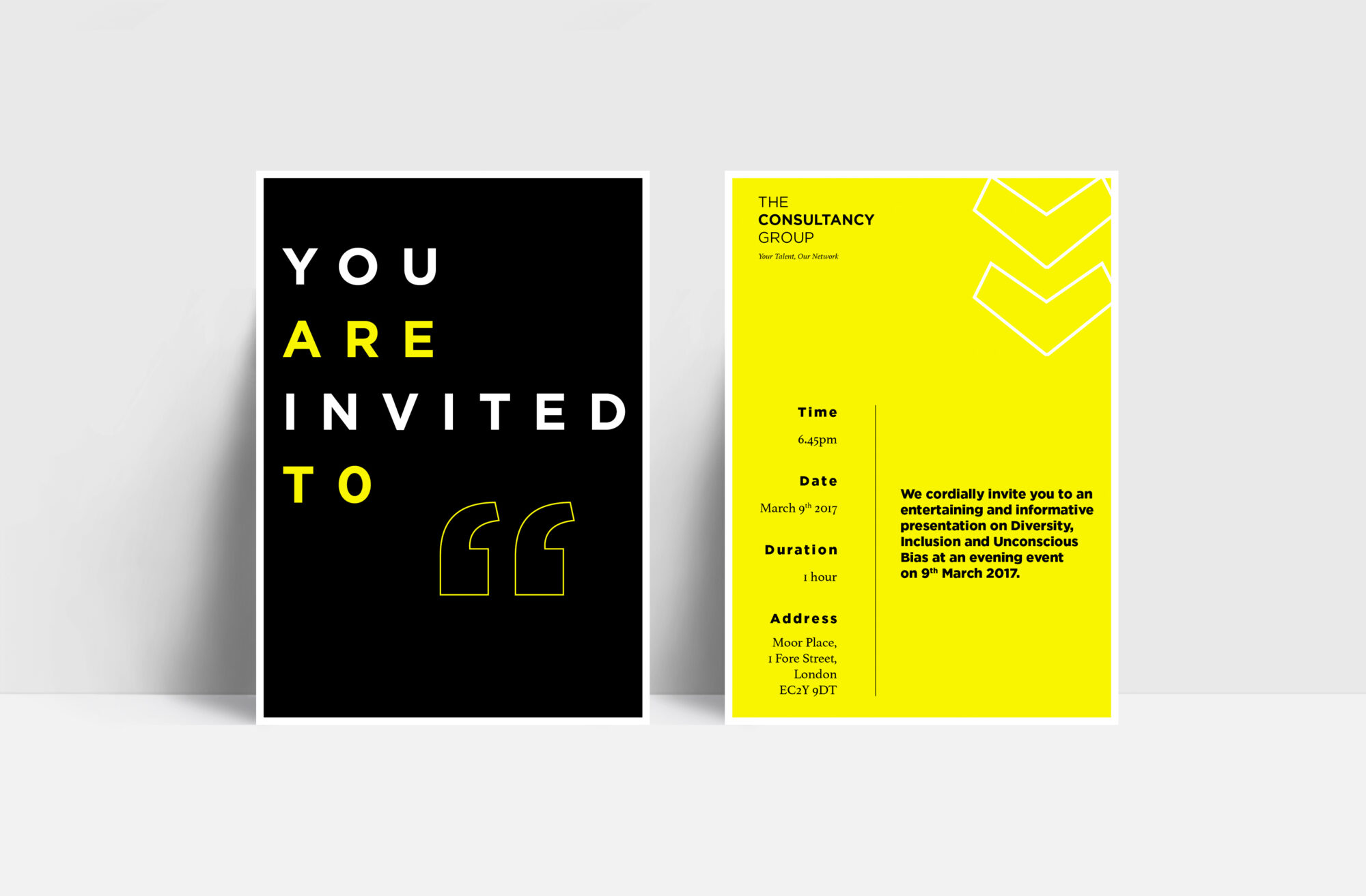 The Consultancy Group invite