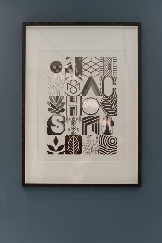 Studio we are Fred office interior design typography