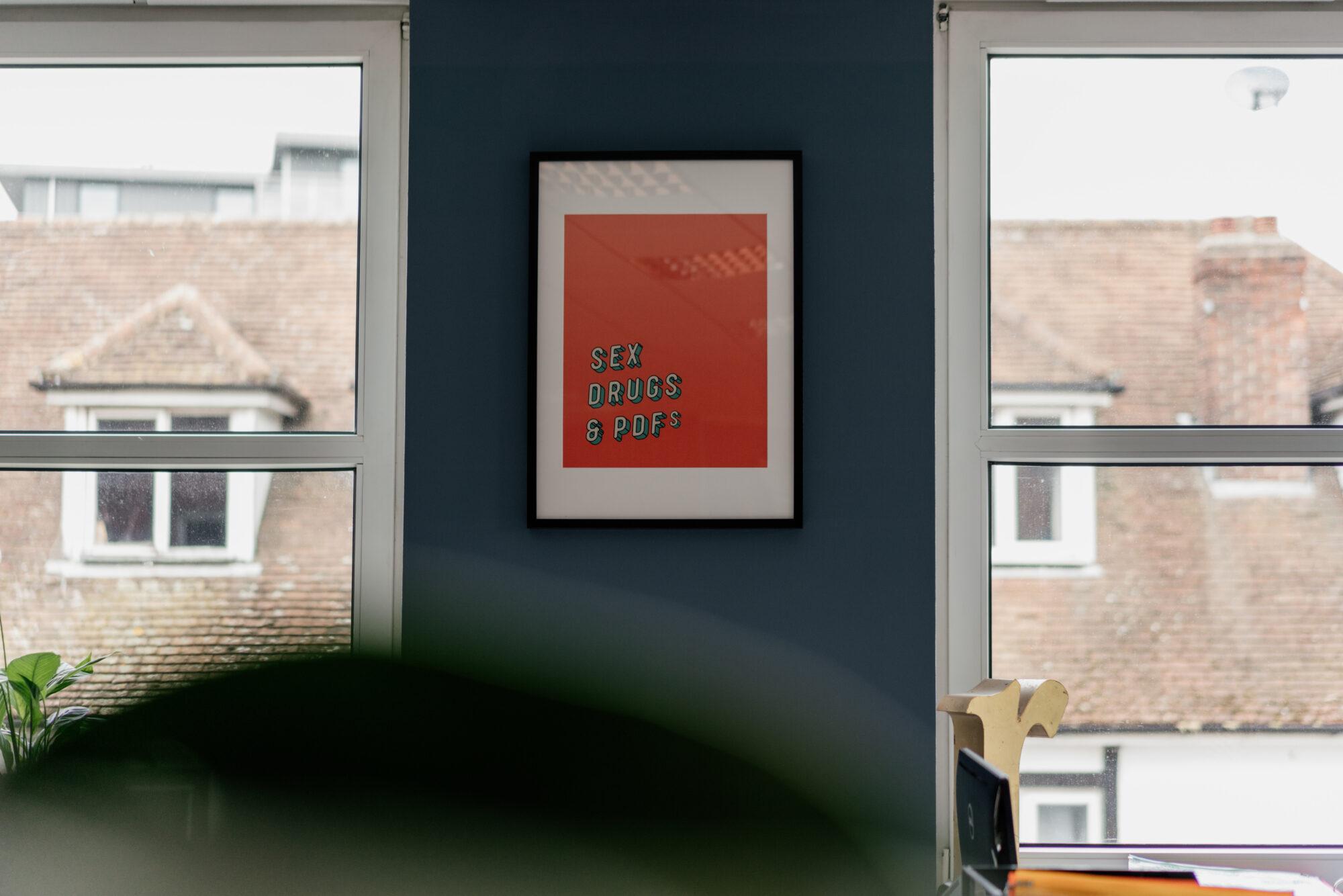 Studio office interior design